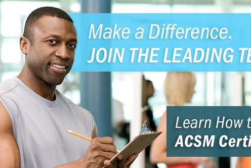 Learn How to Get ACSM