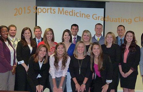 2015 Sports Medicine grad