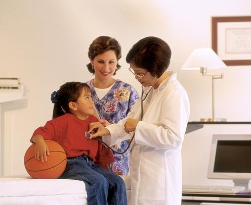 Sports doctors work with