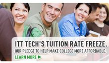 ITT Tech's Tuition Rate Freeze