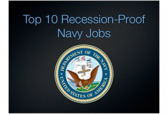 Navy Careers in demand