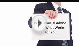 Best Financial Advice Find What Works For You ~ Finance Tips