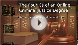 Criminal Justice Degree Online ACOT.edu