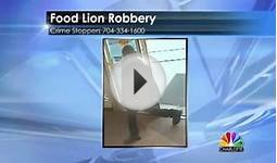Food Lion Robbery (Charlotte, NC) (April 13, 2013)