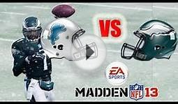 Madden NFL 13 - Lions Vs Eagles - Connected careers week 6