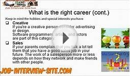 What Career is Right for Me? What Careers Will Suit Your
